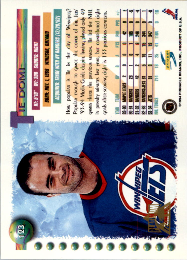 1994-95-Score-Platinum-Hockey-Card-Pick thumbnail 81