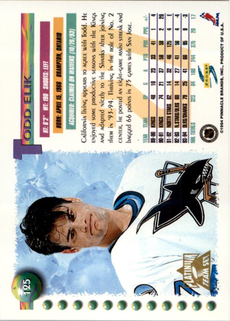 1994-95-Score-Platinum-Hockey-Card-Pick thumbnail 83