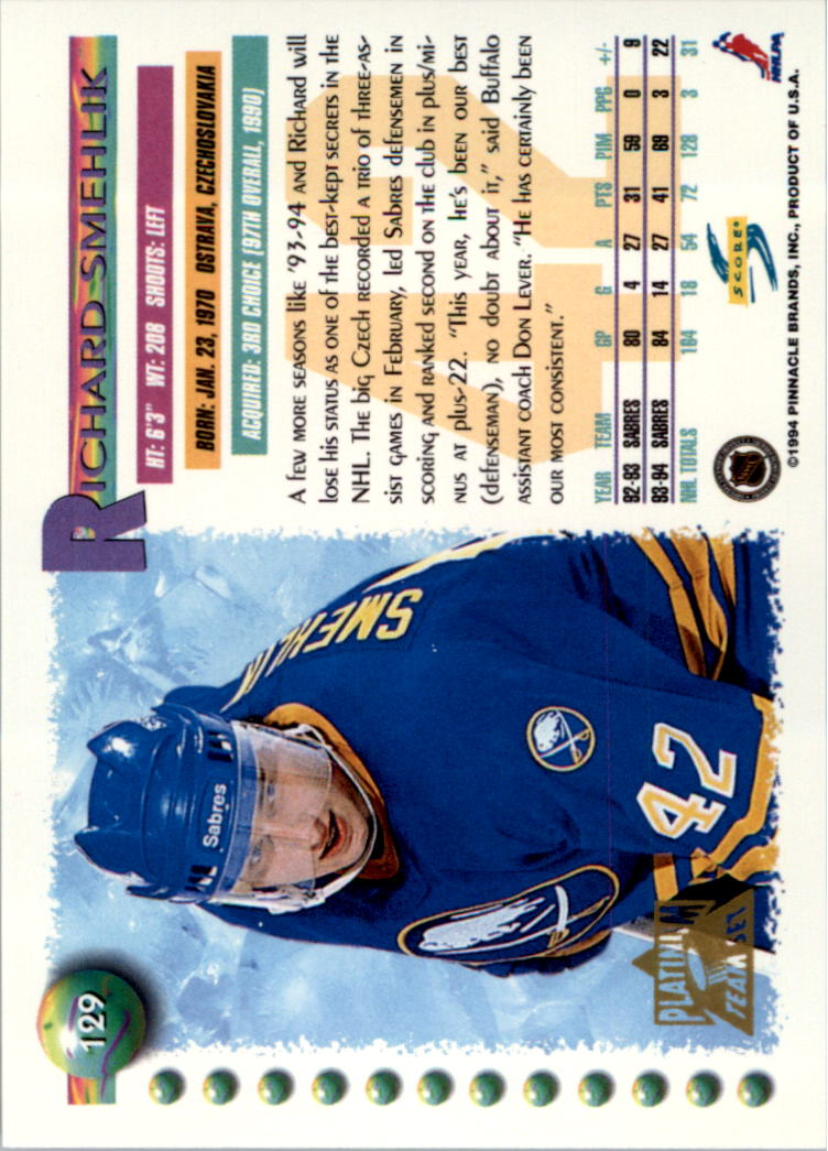 1994-95-Score-Platinum-Hockey-Card-Pick thumbnail 85