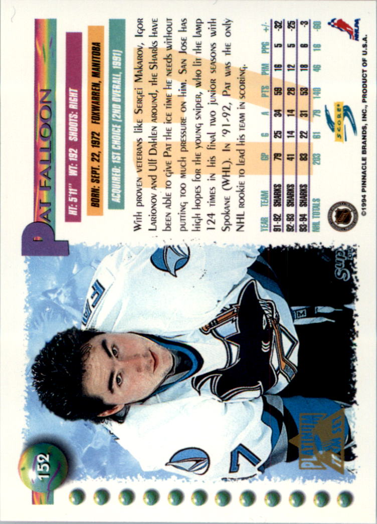 1994-95-Score-Platinum-Hockey-Card-Pick thumbnail 97