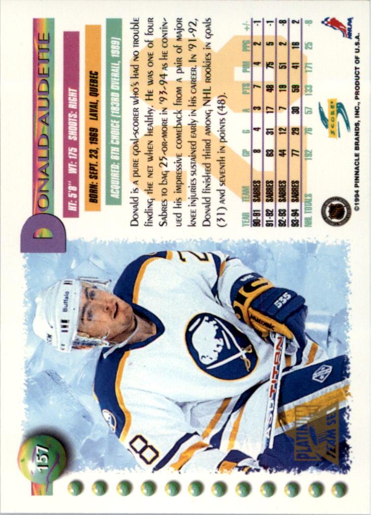 1994-95-Score-Platinum-Hockey-Card-Pick thumbnail 101