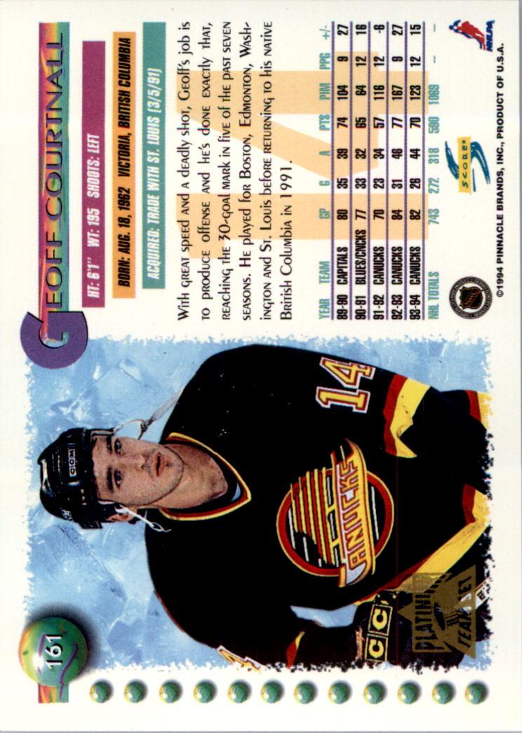 1994-95-Score-Platinum-Hockey-Card-Pick thumbnail 105