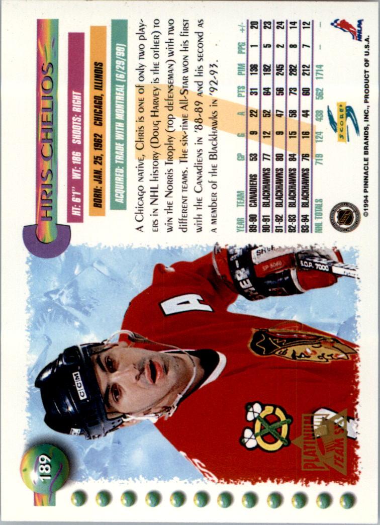 1994-95-Score-Platinum-Hockey-Card-Pick thumbnail 123