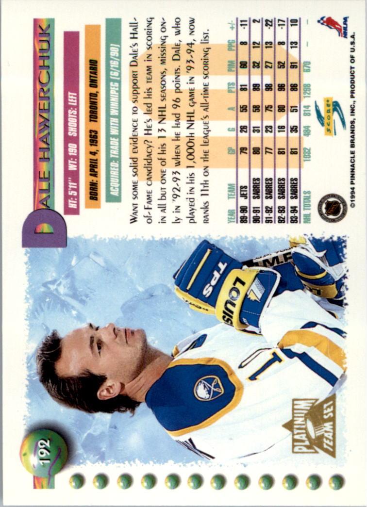 1994-95-Score-Platinum-Hockey-Card-Pick thumbnail 125