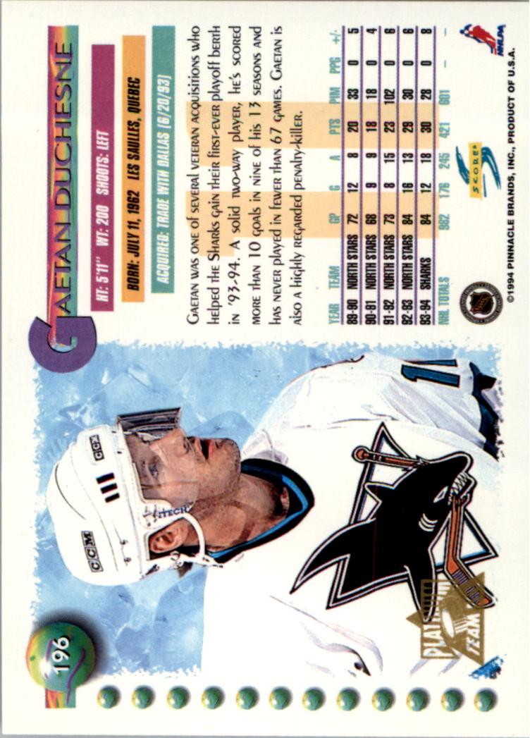 1994-95-Score-Platinum-Hockey-Card-Pick thumbnail 127