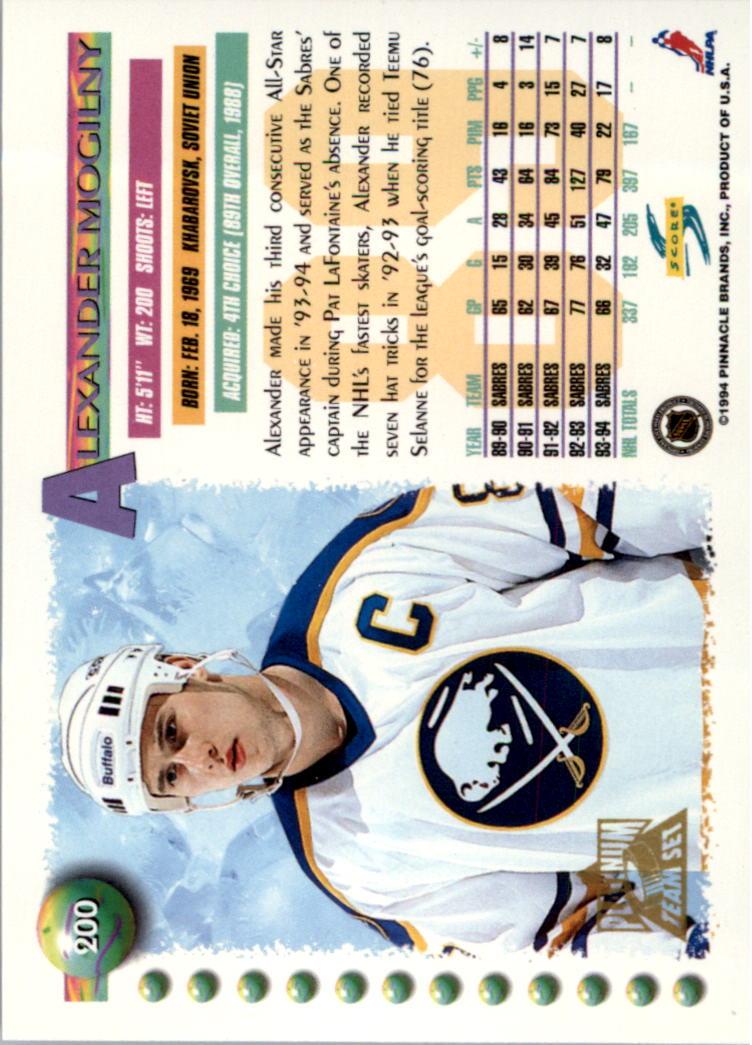 1994-95-Score-Platinum-Hockey-Card-Pick thumbnail 131