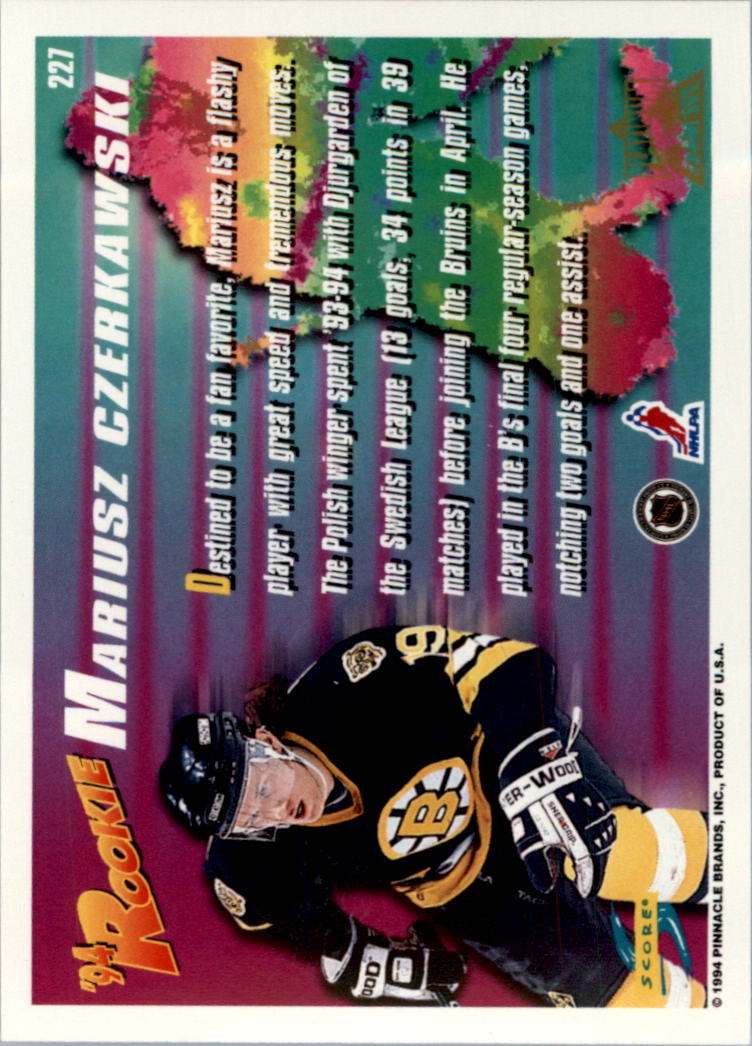 1994-95-Score-Platinum-Hockey-Card-Pick thumbnail 137