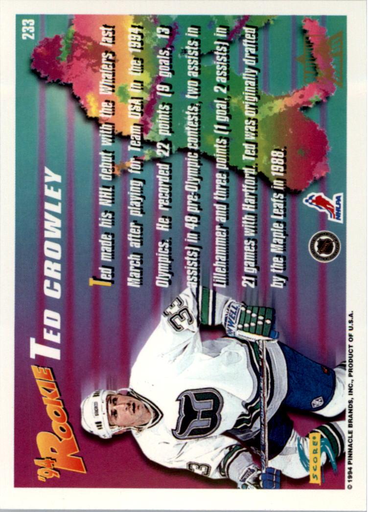 1994-95-Score-Platinum-Hockey-Card-Pick thumbnail 139
