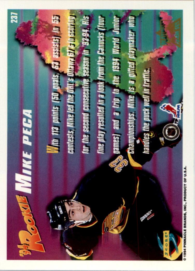 1994-95-Score-Platinum-Hockey-Card-Pick thumbnail 141