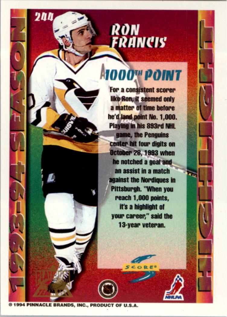 1994-95-Score-Platinum-Hockey-Card-Pick thumbnail 145