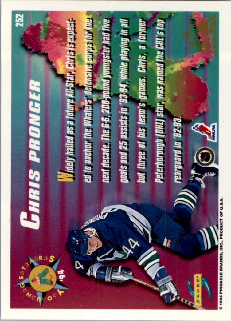 1994-95-Score-Platinum-Hockey-Card-Pick thumbnail 149