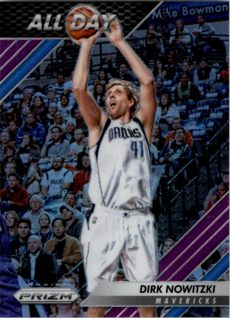 2016-17 Panini Prizm All Day Prizms Purple #7 Dirk Nowitzki