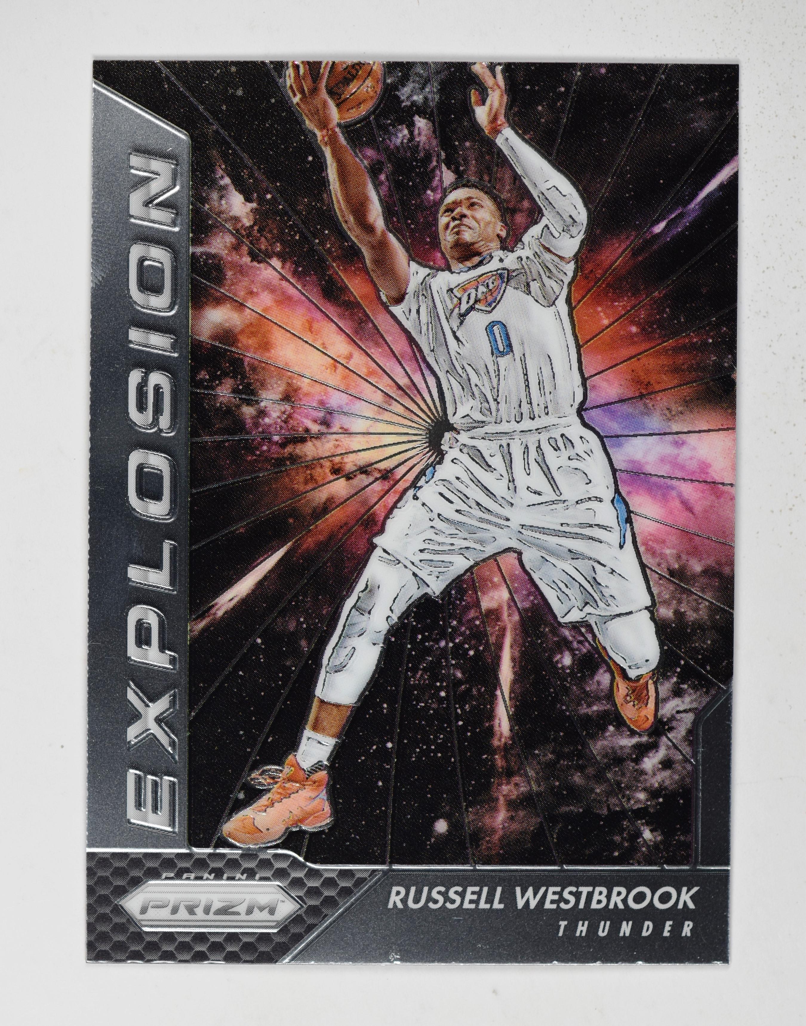 1f098e6edb2917 2016-17 Panini Prizm Explosion  15 Russell Westbrook