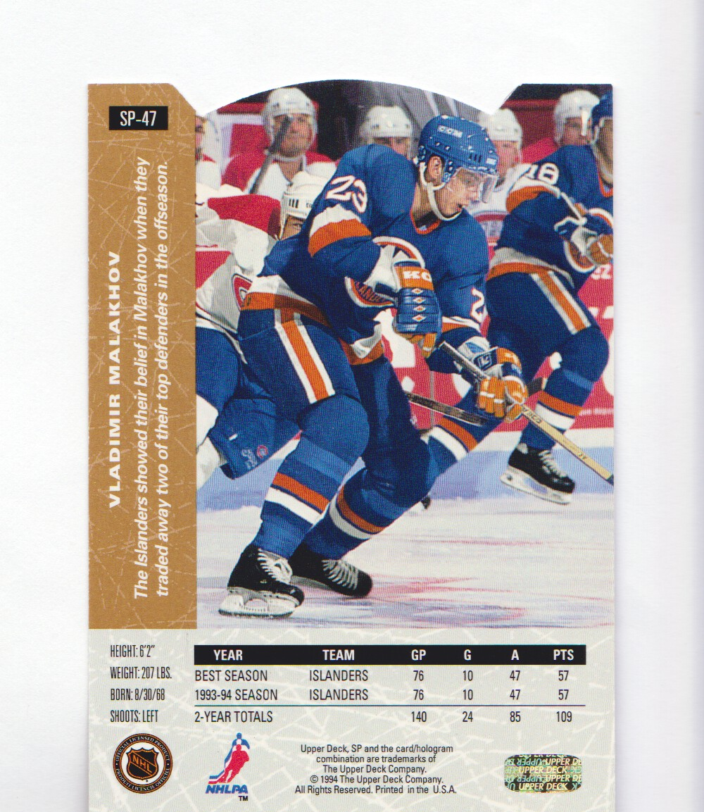 1994-95-Upper-Deck-SP-Inserts-Die-Cuts-Hockey-Cards-Pick-From-List miniature 31