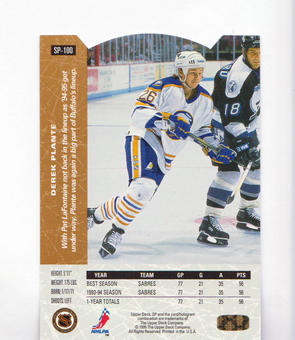 1994-95-Upper-Deck-SP-Inserts-Die-Cuts-Hockey-Cards-Pick-From-List miniature 59