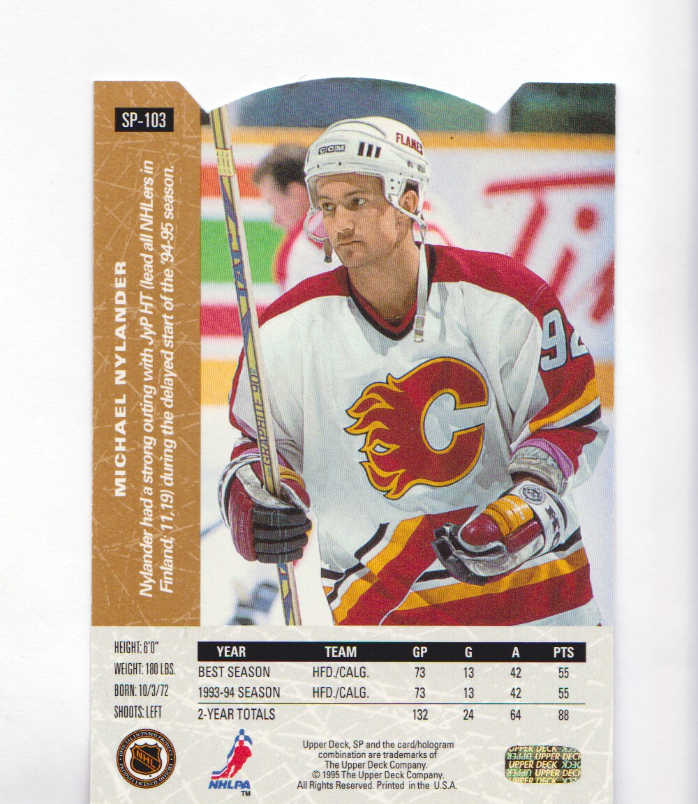 1994-95-Upper-Deck-SP-Inserts-Die-Cuts-Hockey-Cards-Pick-From-List miniature 65