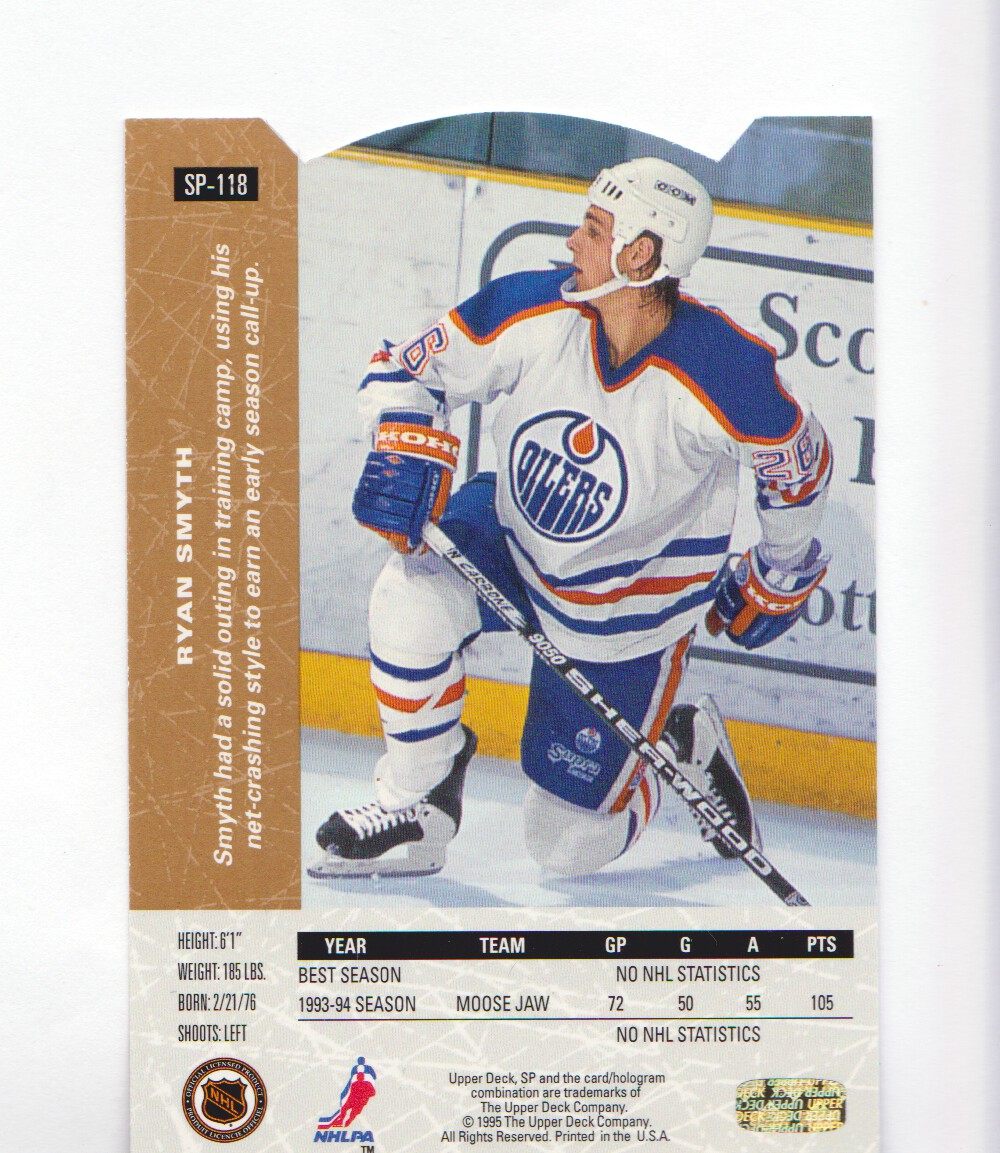 1994-95-Upper-Deck-SP-Inserts-Die-Cuts-Hockey-Cards-Pick-From-List miniature 77