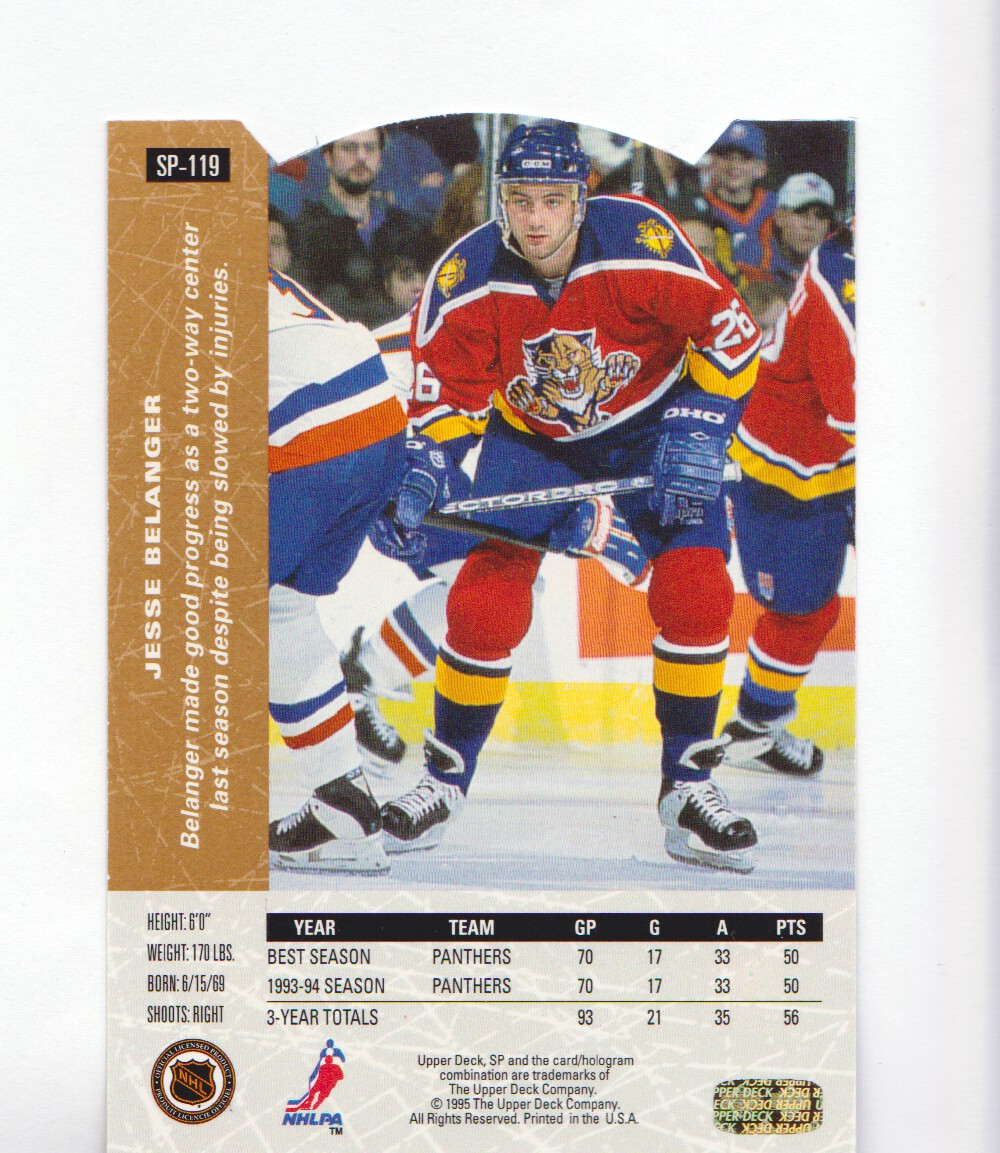 1994-95-Upper-Deck-SP-Inserts-Die-Cuts-Hockey-Cards-Pick-From-List miniature 79