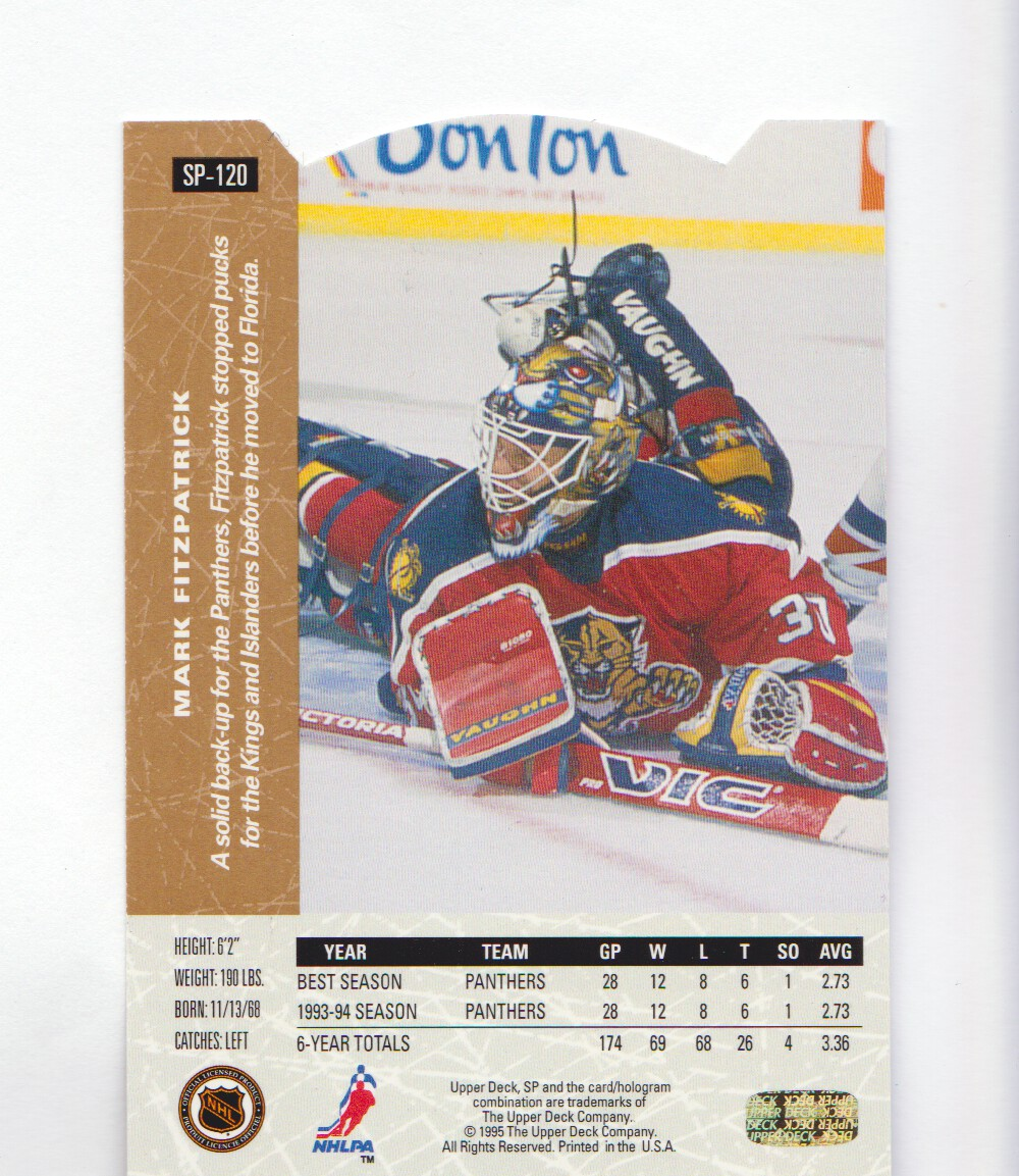 1994-95-Upper-Deck-SP-Inserts-Die-Cuts-Hockey-Cards-Pick-From-List miniature 81