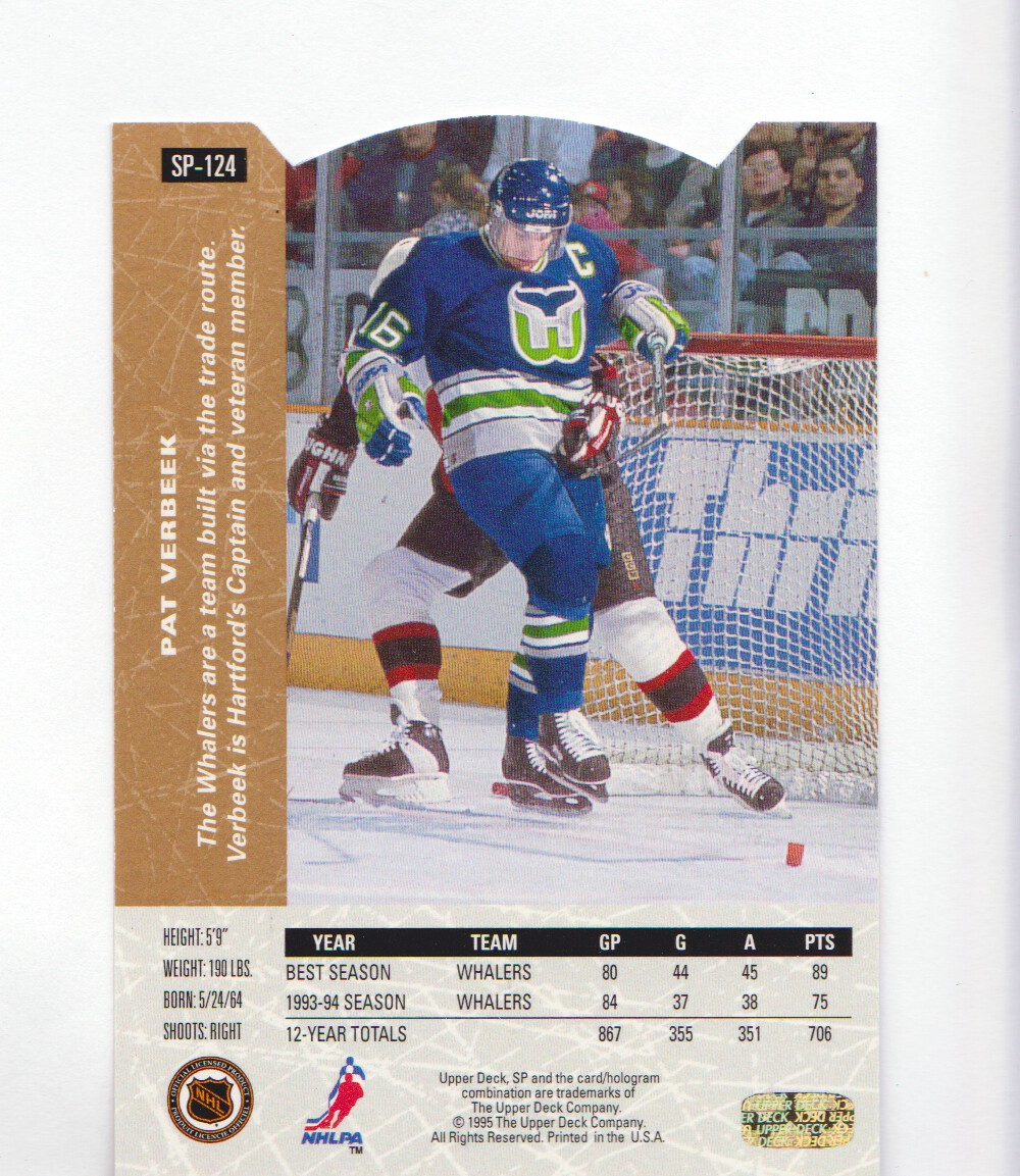 1994-95-Upper-Deck-SP-Inserts-Die-Cuts-Hockey-Cards-Pick-From-List miniature 85