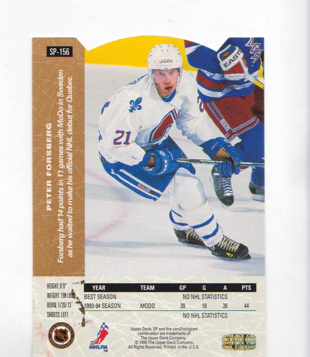 1994-95-Upper-Deck-SP-Inserts-Die-Cuts-Hockey-Cards-Pick-From-List miniature 99