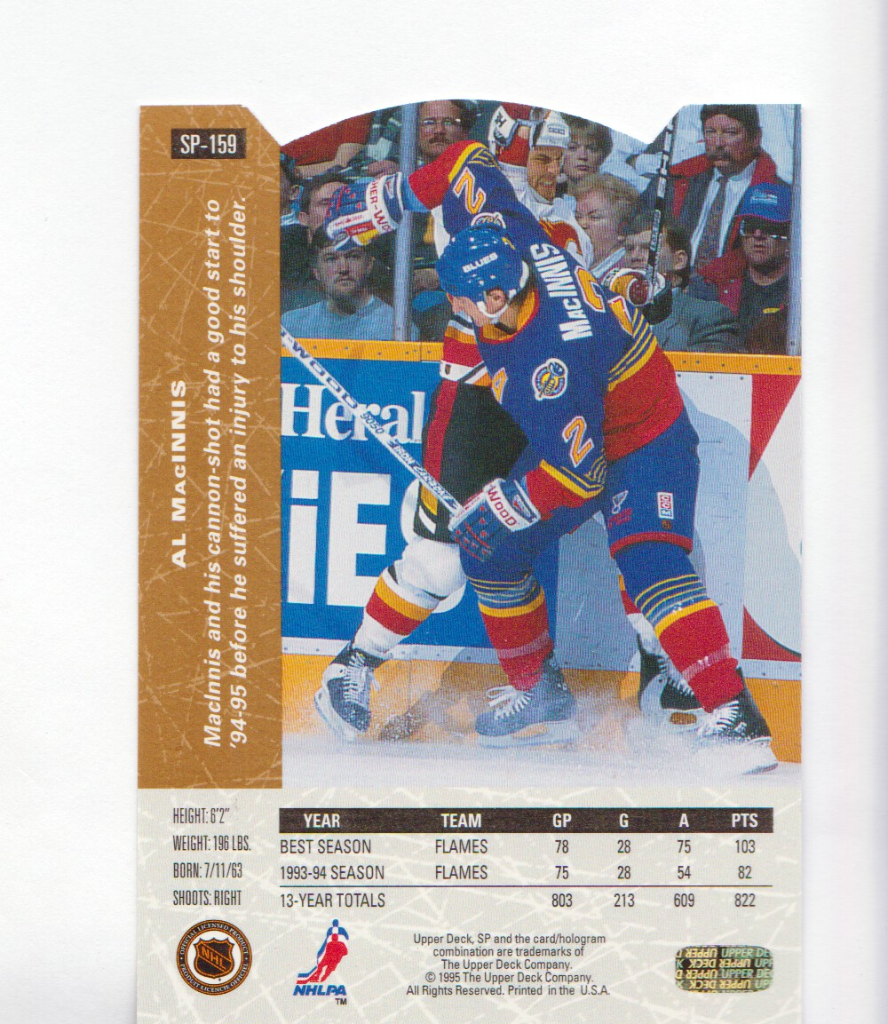 1994-95-Upper-Deck-SP-Inserts-Die-Cuts-Hockey-Cards-Pick-From-List miniature 101