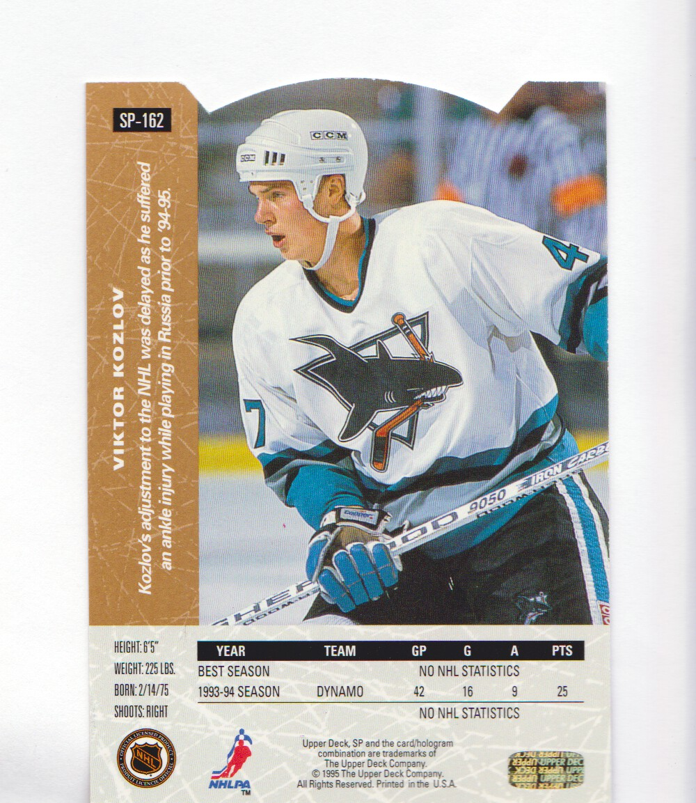 1994-95-Upper-Deck-SP-Inserts-Die-Cuts-Hockey-Cards-Pick-From-List miniature 103