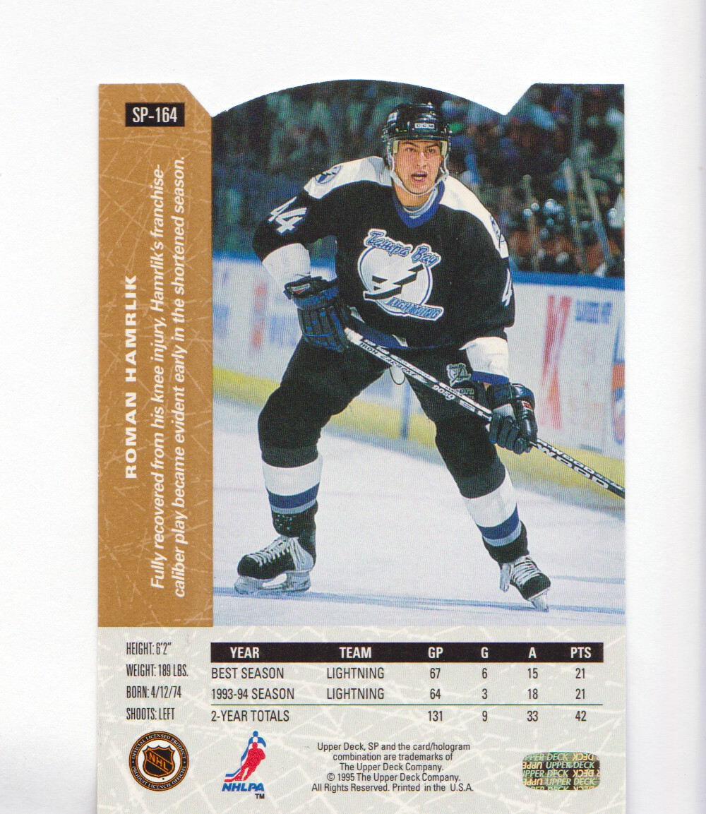 1994-95-Upper-Deck-SP-Inserts-Die-Cuts-Hockey-Cards-Pick-From-List miniature 105