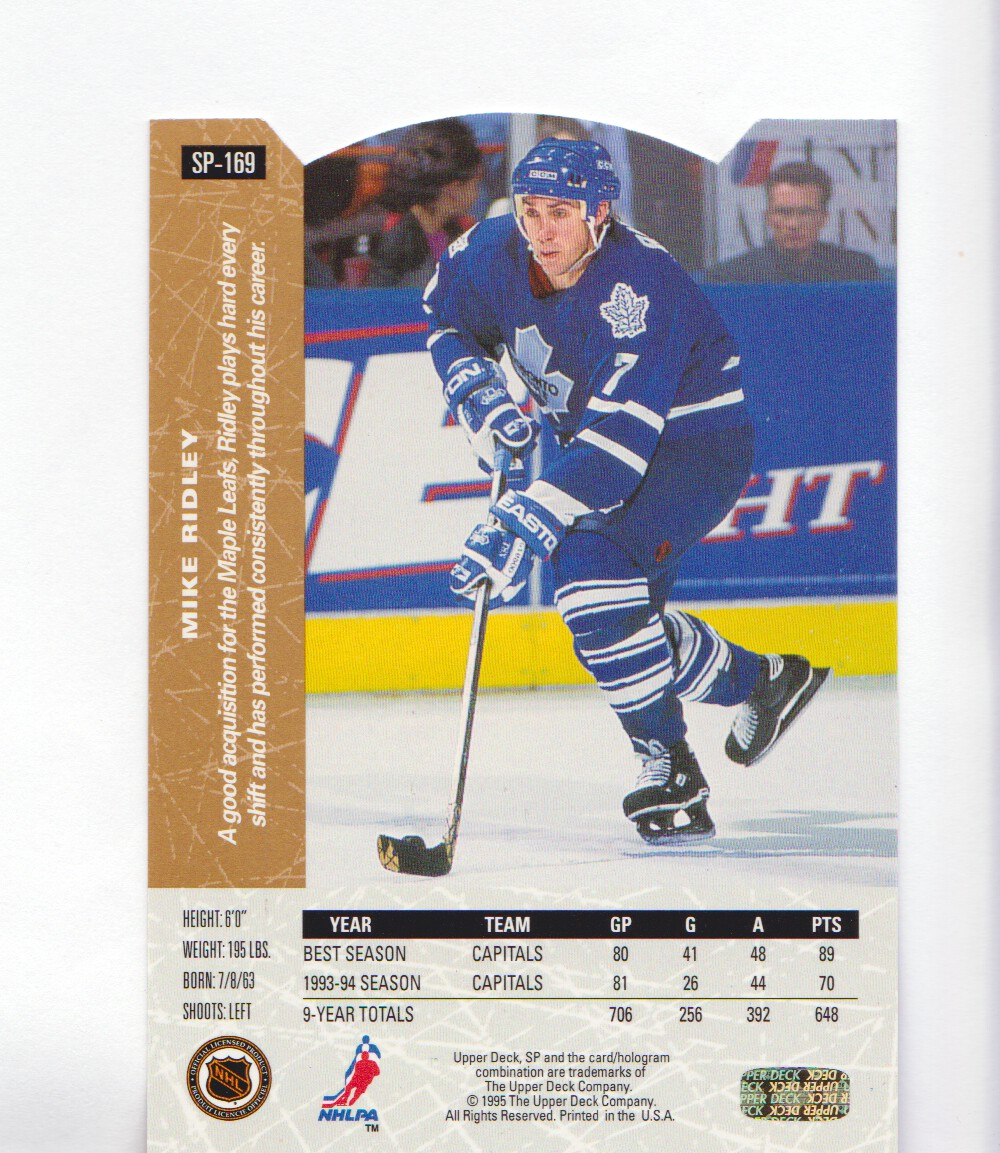 1994-95-Upper-Deck-SP-Inserts-Die-Cuts-Hockey-Cards-Pick-From-List miniature 109