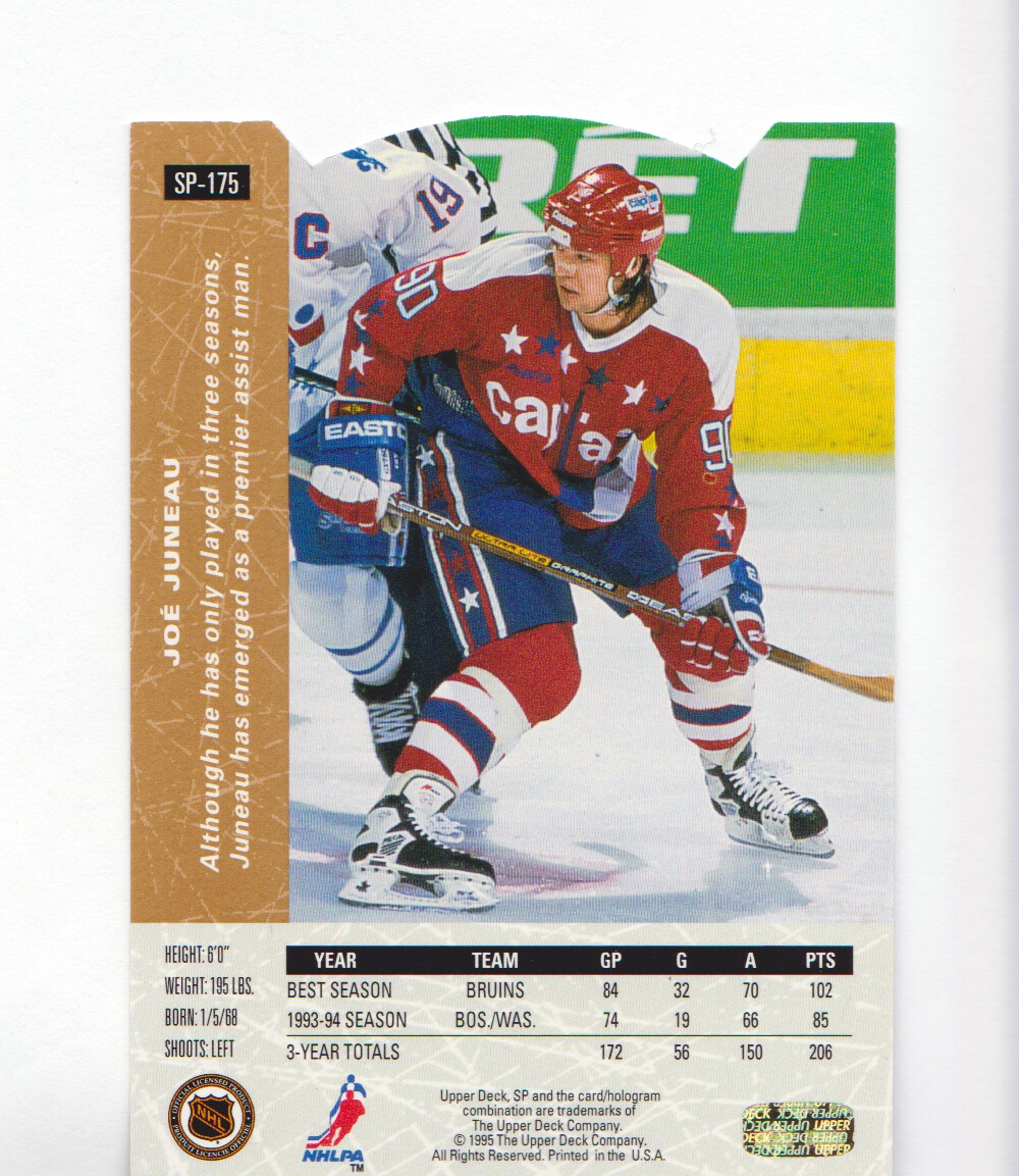 1994-95-Upper-Deck-SP-Inserts-Die-Cuts-Hockey-Cards-Pick-From-List miniature 115