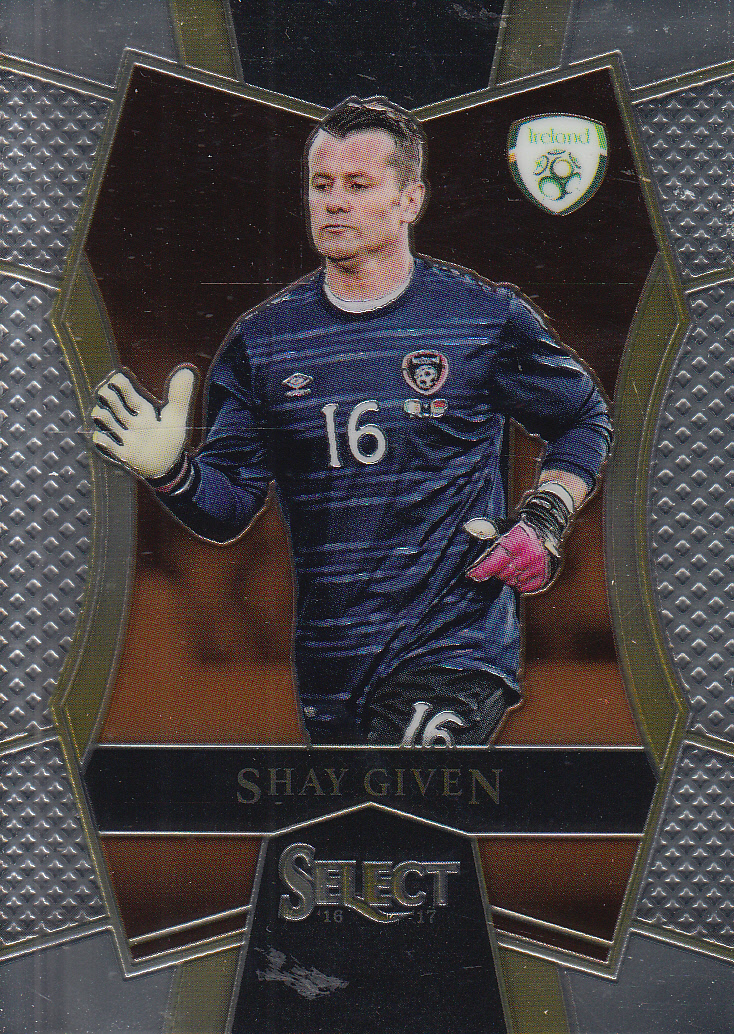 2016-17 Panini Select Soccer #144 Shay Given Ireland