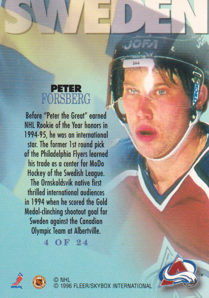 1995-96-Metal-International-Steel-Hockey-Cards-Pick-From-List thumbnail 5