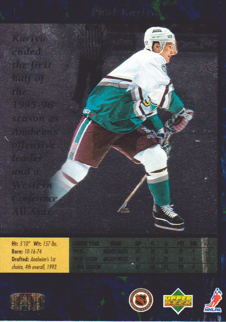 1995-96-SP-Hockey-Cards-Pick-From-List miniature 3