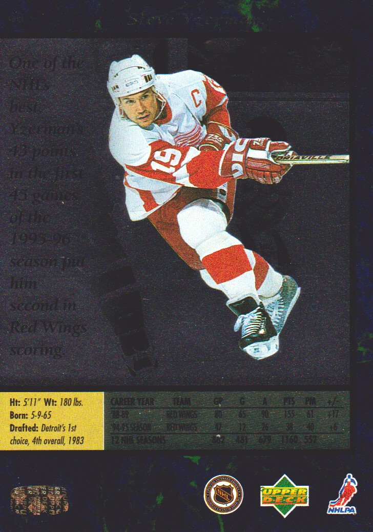 1995-96-SP-Hockey-Cards-Pick-From-List miniature 27