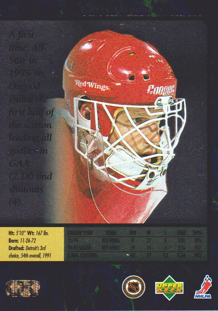 1995-96-SP-Hockey-Cards-Pick-From-List miniature 31