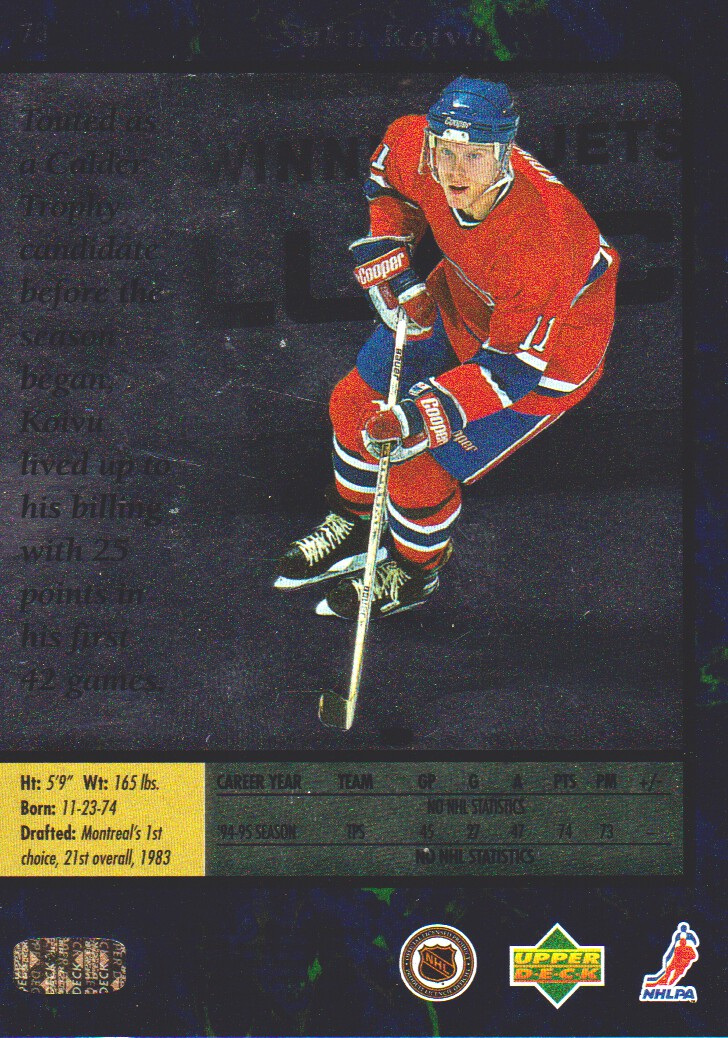 1995-96-SP-Hockey-Cards-Pick-From-List miniature 45