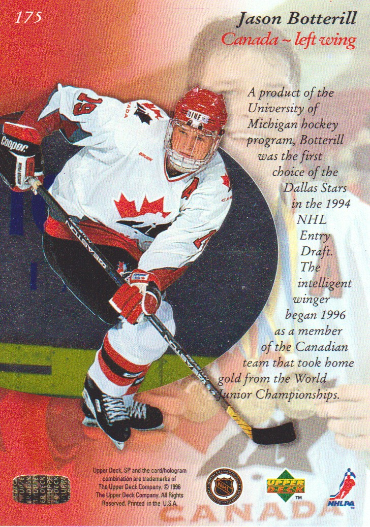 1995-96-SP-Hockey-Cards-Pick-From-List miniature 59