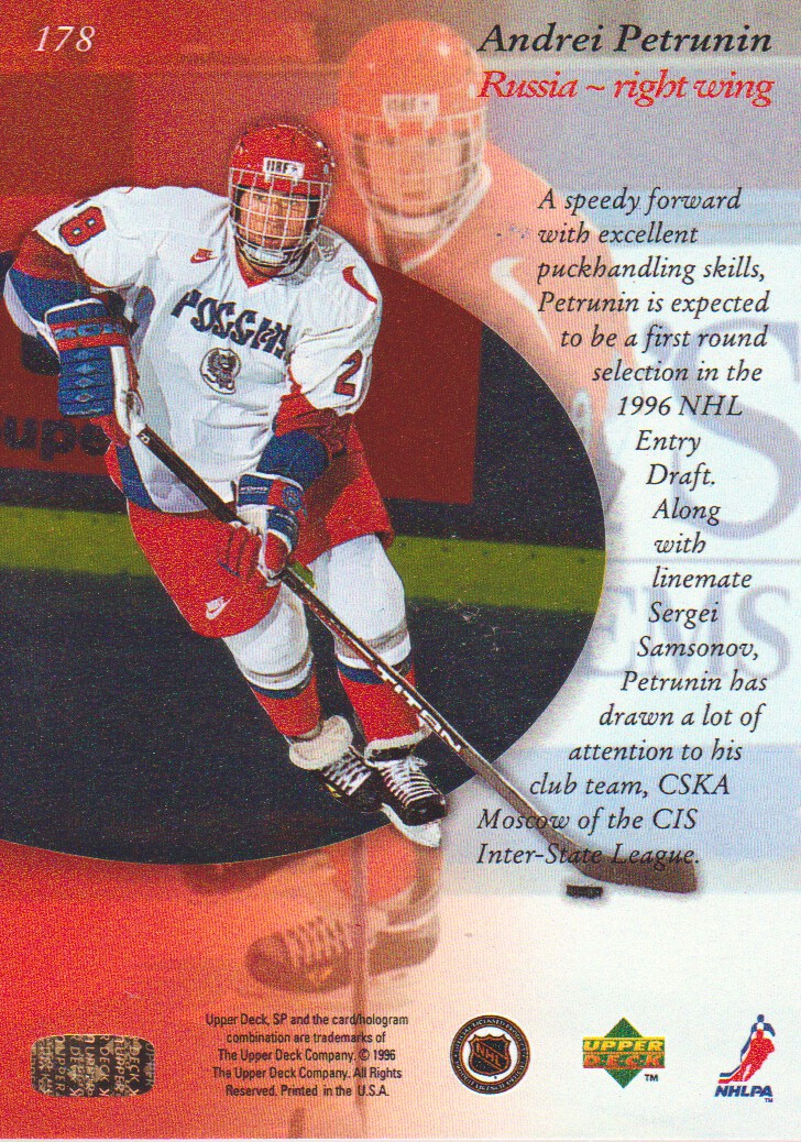 1995-96-SP-Hockey-Cards-Pick-From-List miniature 61