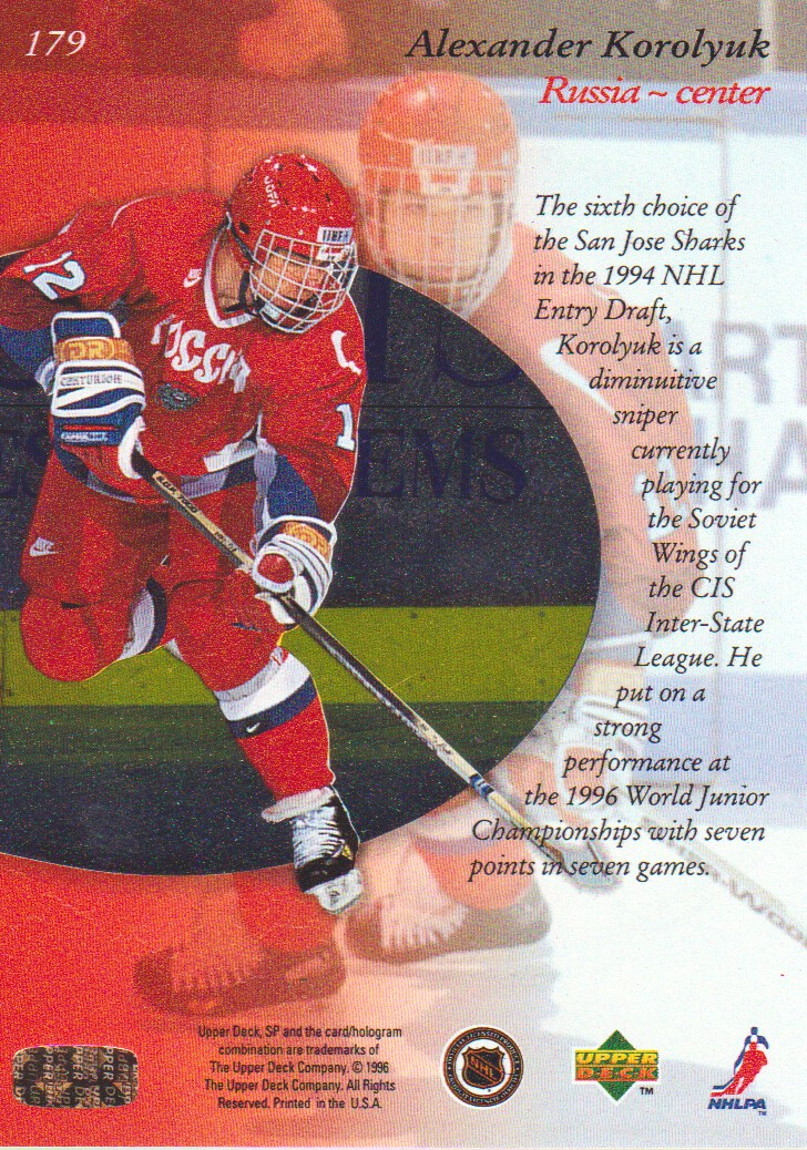 1995-96-SP-Hockey-Cards-Pick-From-List miniature 63