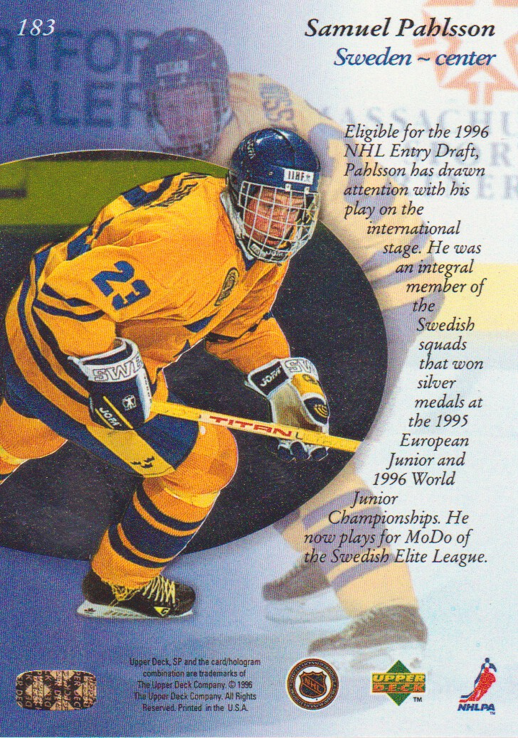 1995-96-SP-Hockey-Cards-Pick-From-List miniature 69