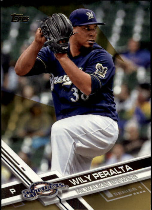 2017 Topps Gold #70 Wily Peralta