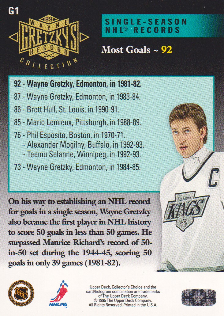 1995-96-Upper-Deck-Gretzky-Collection-Hockey-Cards-Pick-From-List thumbnail 3