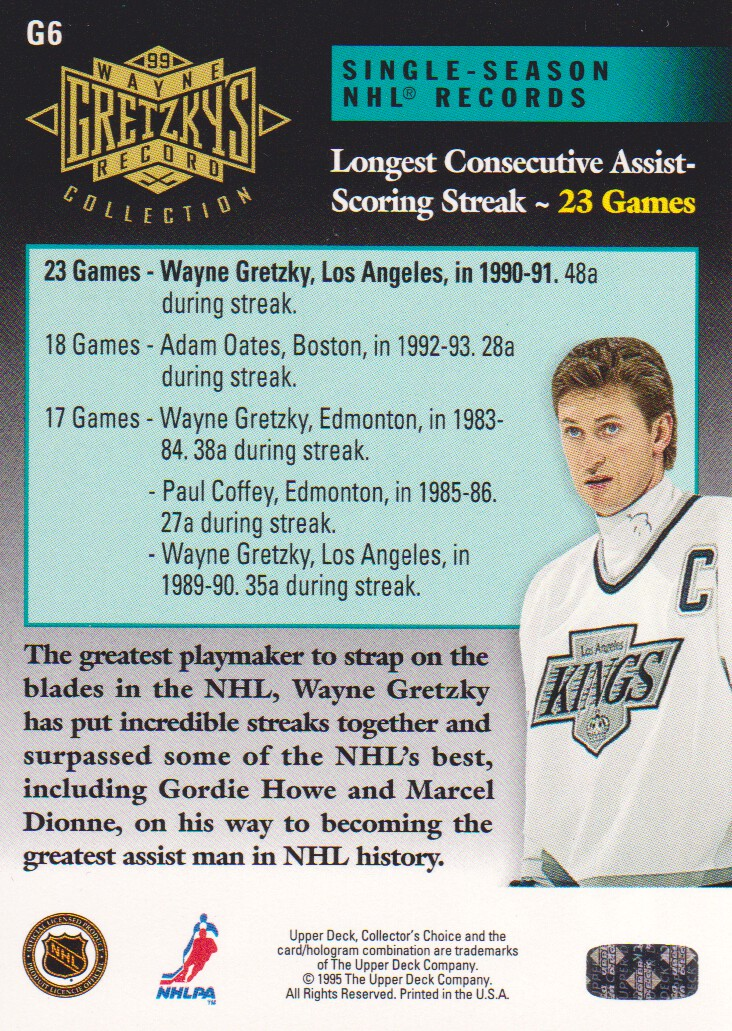 1995-96-Upper-Deck-Gretzky-Collection-Hockey-Cards-Pick-From-List thumbnail 5