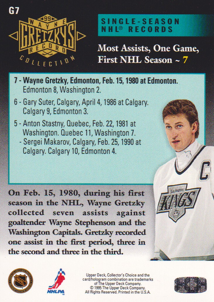 1995-96-Upper-Deck-Gretzky-Collection-Hockey-Cards-Pick-From-List thumbnail 7