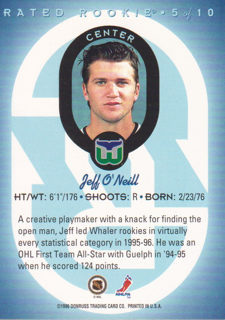 1996-97-Donruss-Rated-Rookies-Hockey-Cards-Pick-From-List thumbnail 7