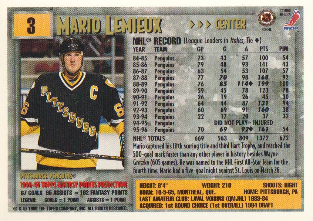 1996-97-Topps-Picks-Hockey-Cards-Pick-From-List thumbnail 5