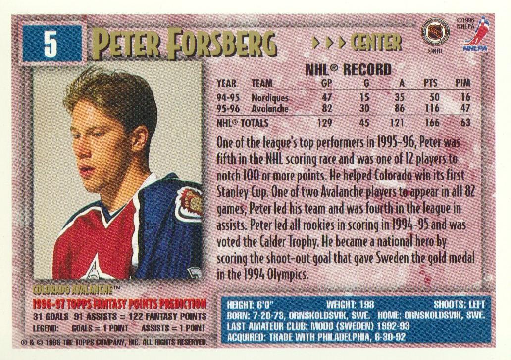 1996-97-Topps-Picks-Hockey-Cards-Pick-From-List thumbnail 7