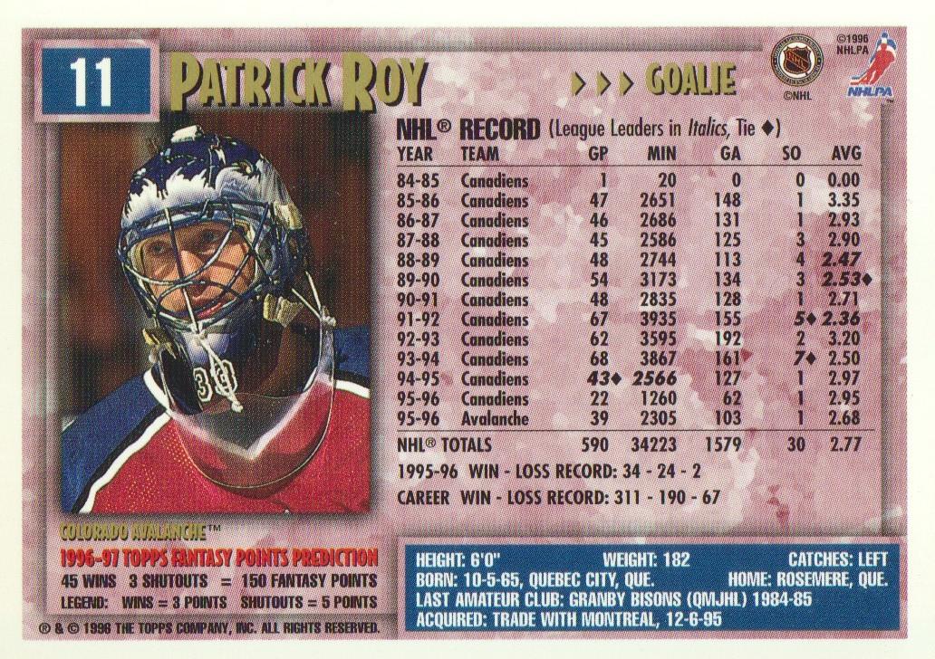 1996-97-Topps-Picks-Hockey-Cards-Pick-From-List thumbnail 13