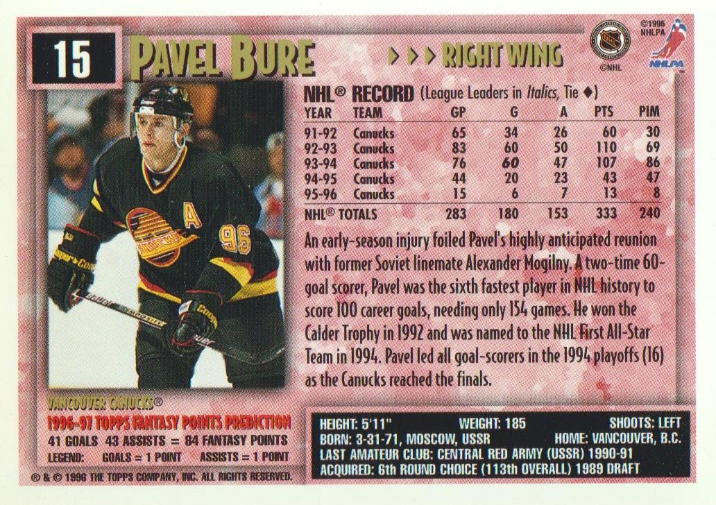 1996-97-Topps-Picks-Hockey-Cards-Pick-From-List thumbnail 17