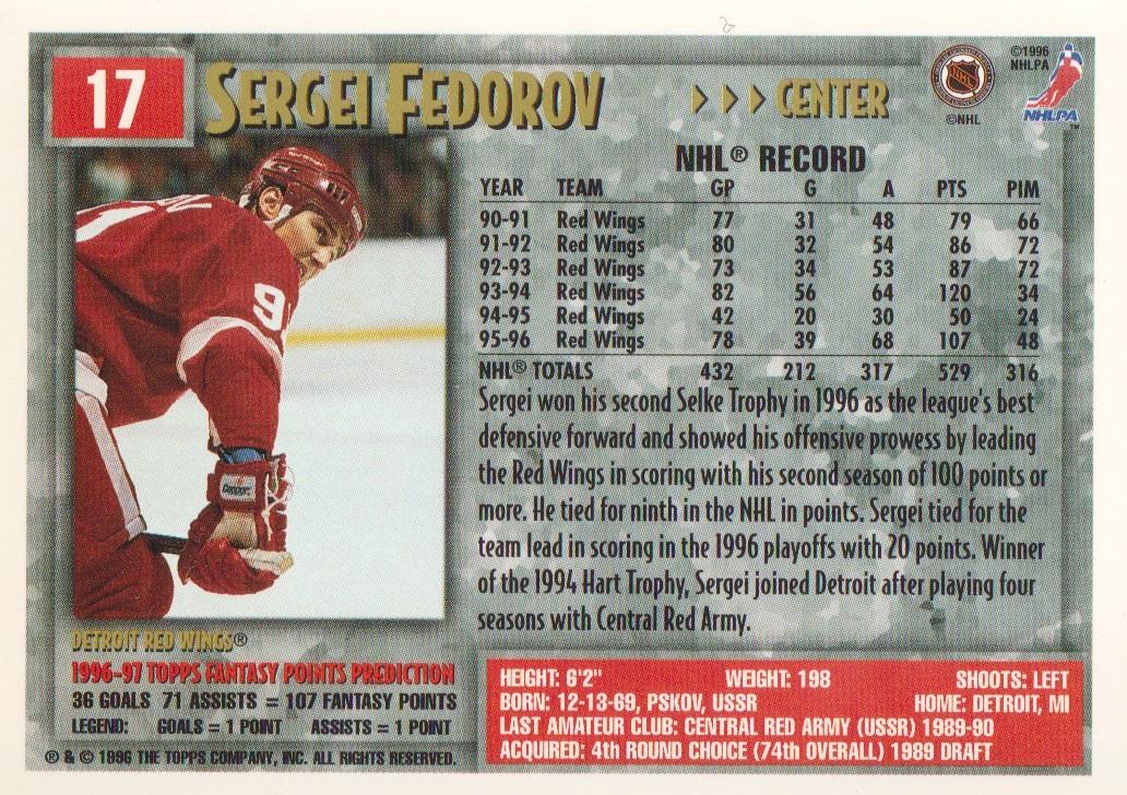 1996-97-Topps-Picks-Hockey-Cards-Pick-From-List thumbnail 19